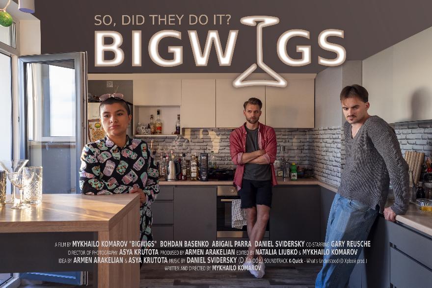"Short film ""Bigwigs"" by ukrainian director Mykhailo Komarov begins festival life"