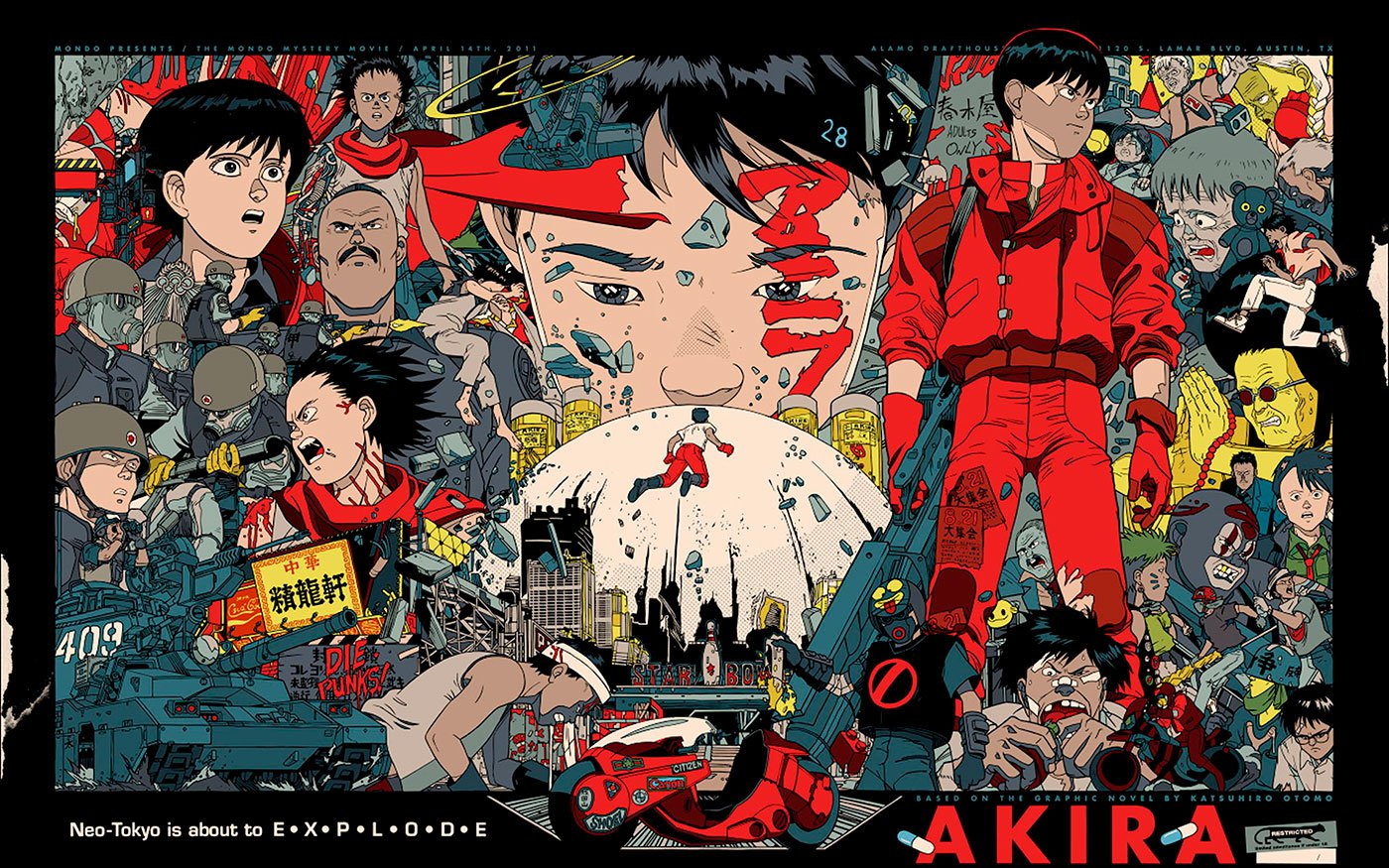 Манга «Акира» — величайшее научно-фантастическое произведение всех времен