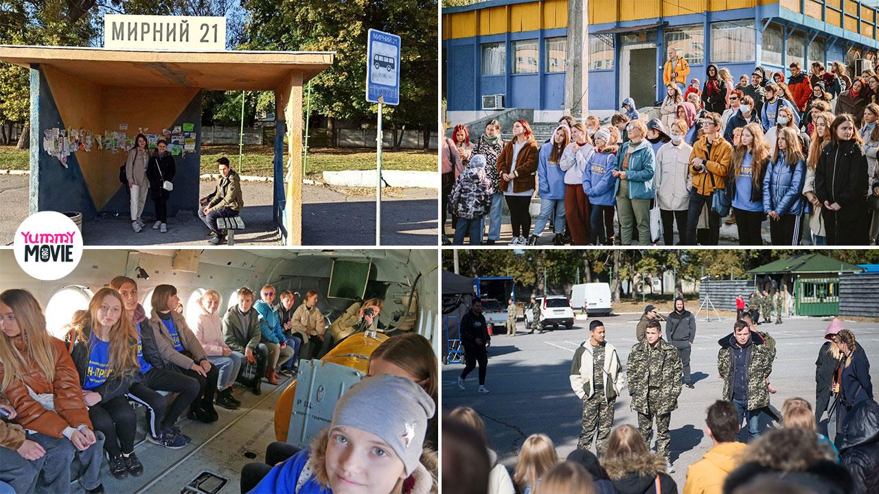 Более 50 детей побывали на съемках военной драмы «Мирный-21»