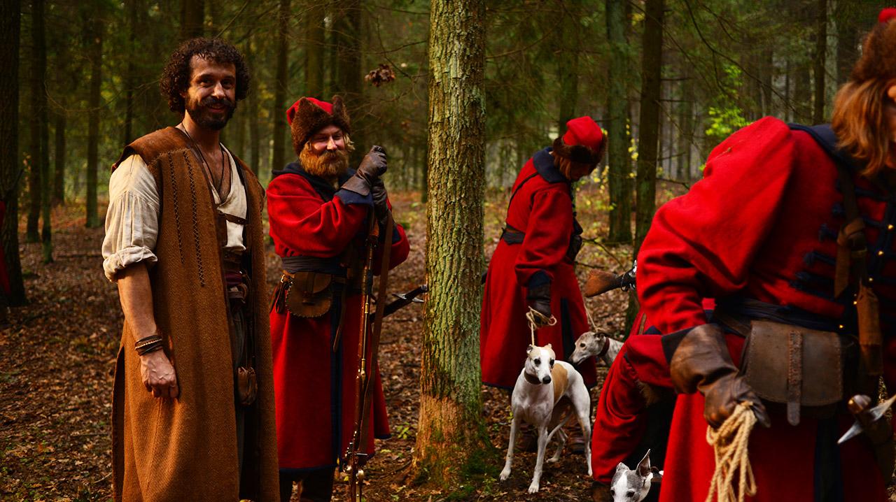 Відео зі зйомок фільму «Козаки. Абсолютно брехлива історія»