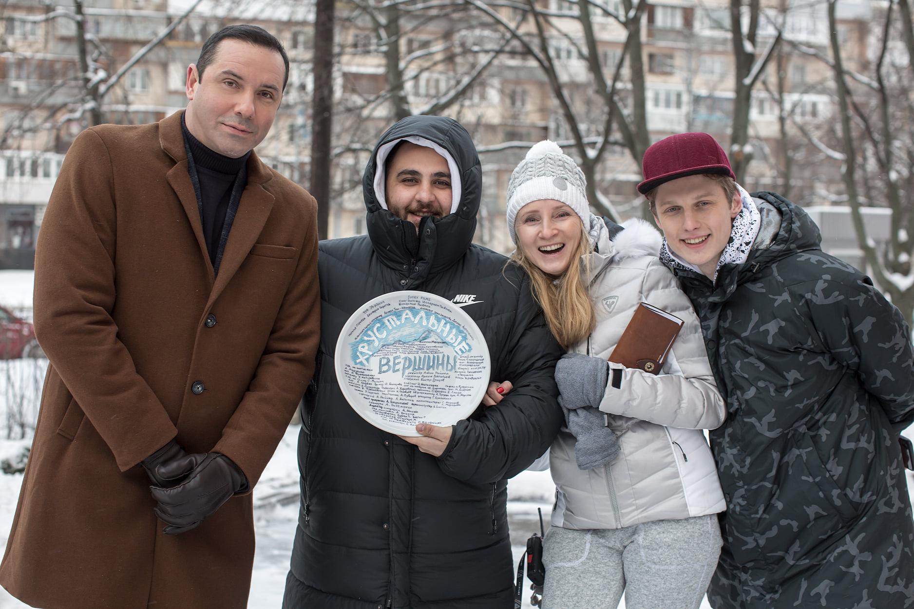 IVORY films розпочали зйомки серіалу «Кришталеві вершини» на замовлення Телеканал Україна (Фото)