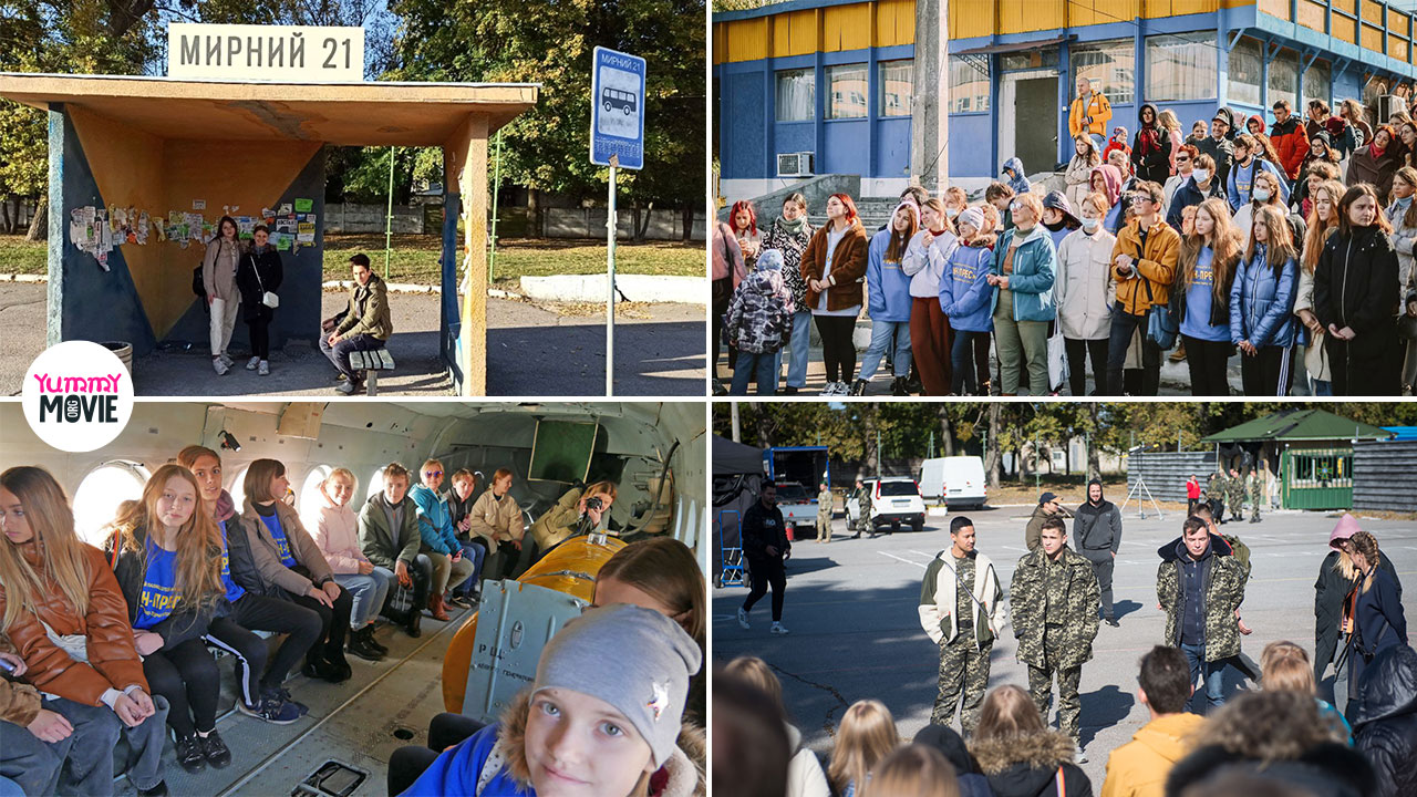 Понад 50 дітей побували на зйомках воєнної драми «Мирний-21»