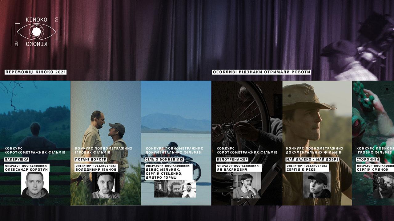 Стали відомі переможці фестивалю кінооператорського мистецтва КІНОКО